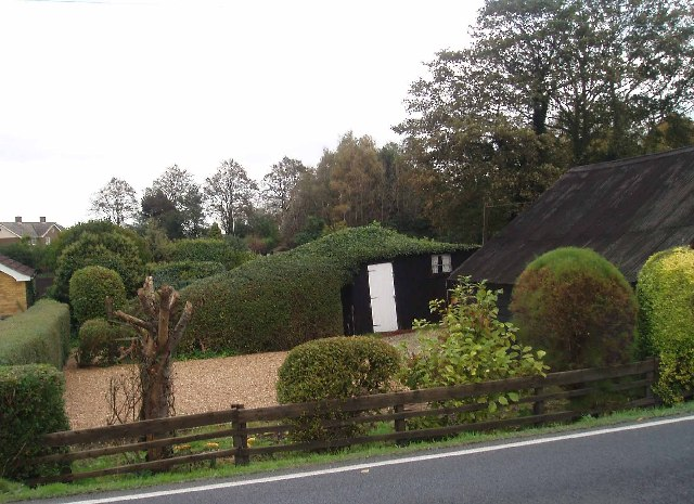 Garden shed, Nordelph.