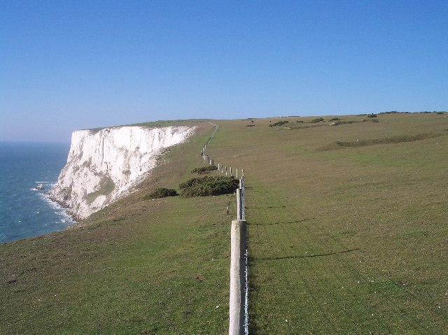 Coastal Path towards West High Down