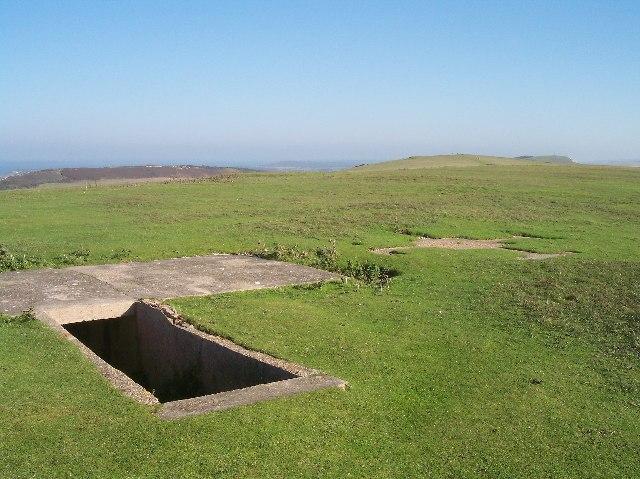 Underground Bunker near Coastguard Cottages