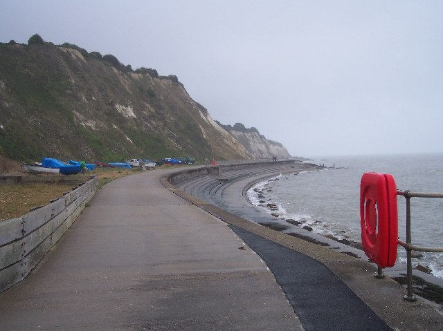 Sea Wall Path, Horseshoe bay