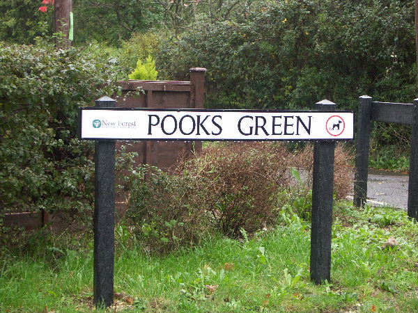 Pooks Green, Nr Marchwood, Hants