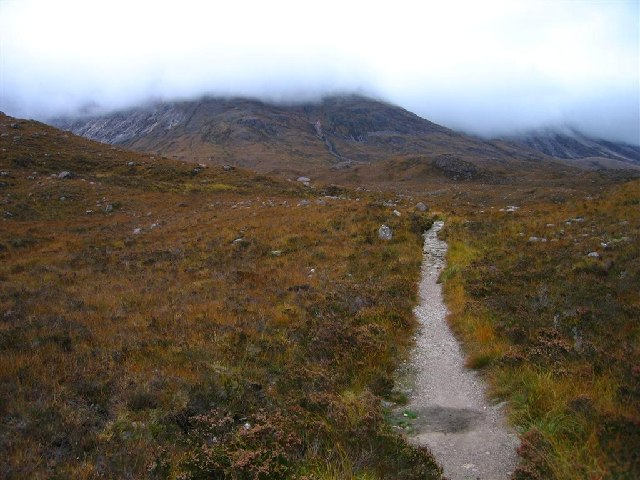 Path to Coire Mhic Nobuil