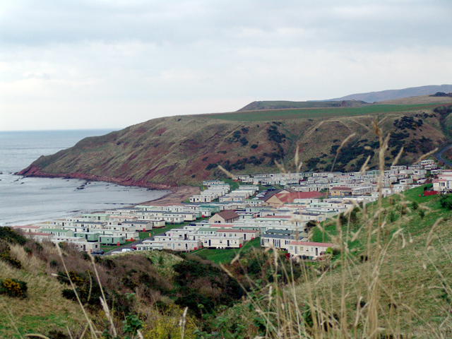 Pease Bay Caravan Site