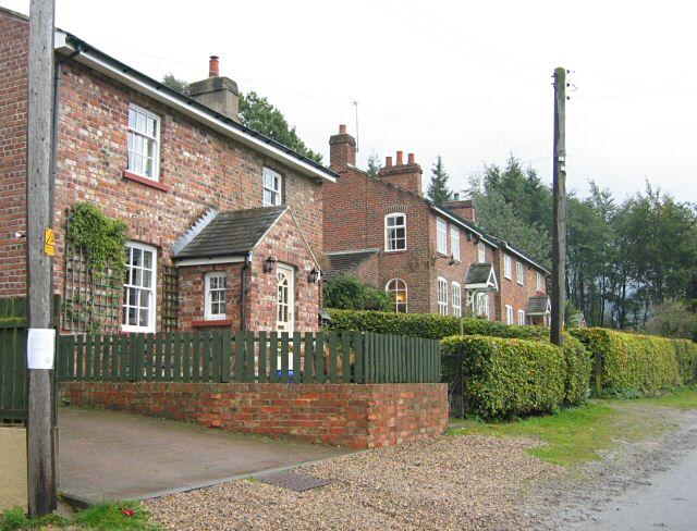 Former railwaymen's cottages