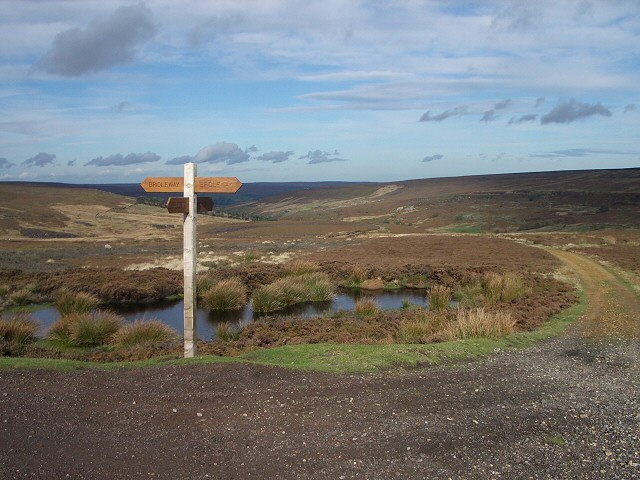 The top of the pass