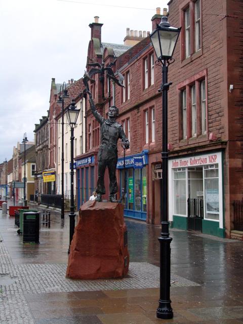 John Muir Statue, Dunbar