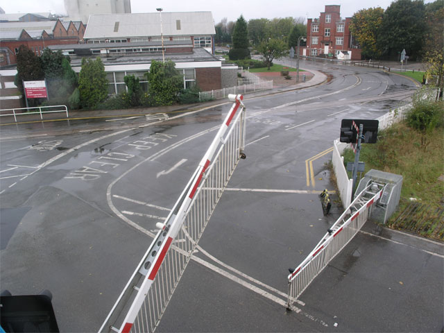 Spondon level crossing