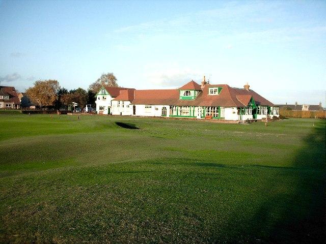 Clubhouse Scotscraig Golf Club