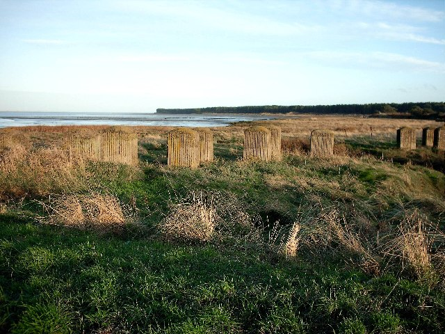 WW2 coastal defences at Lundin Bridge Tayport