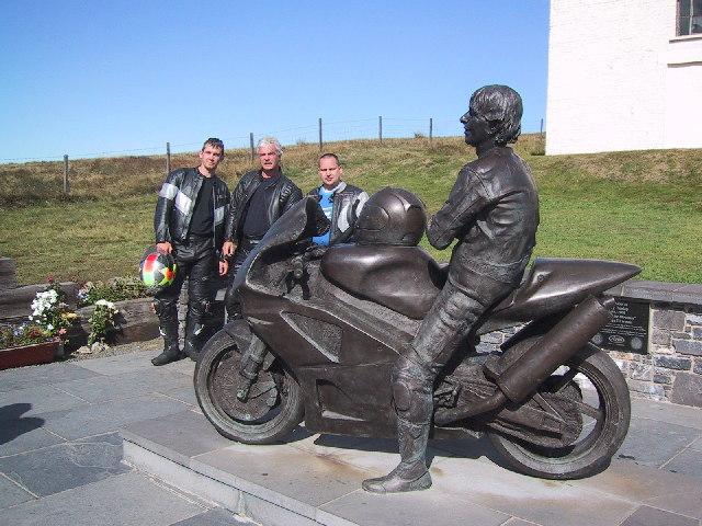 Joey Dunlop Monument