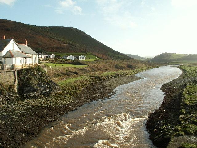 Afon Ystwyth, Aberystwyth