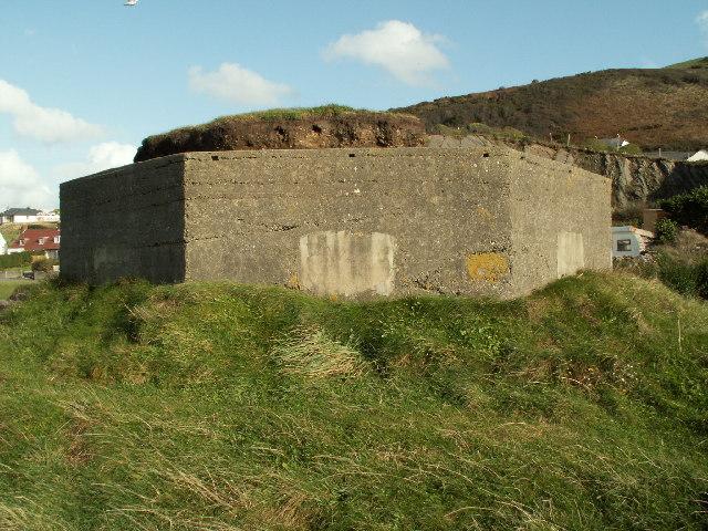 Pillbox (Type Fw3/24), Aberystwyth Harbour