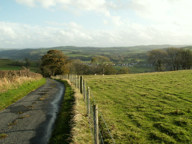 Country road nr Llanilar