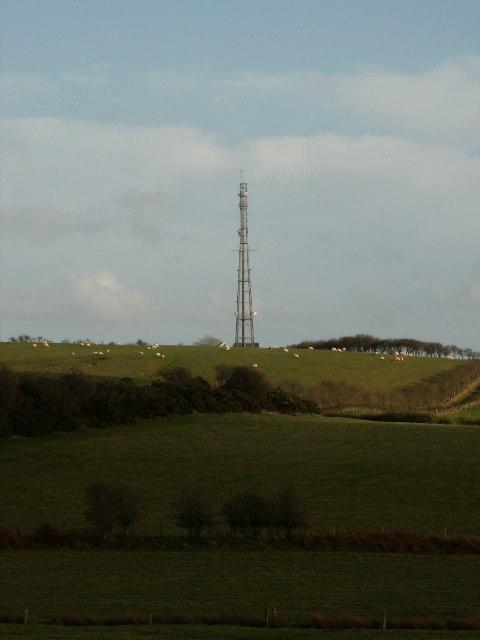 Transmitter, nr. Rhyd-y-Felin