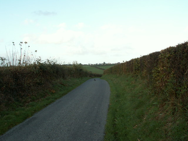 Lane near Pant y crug