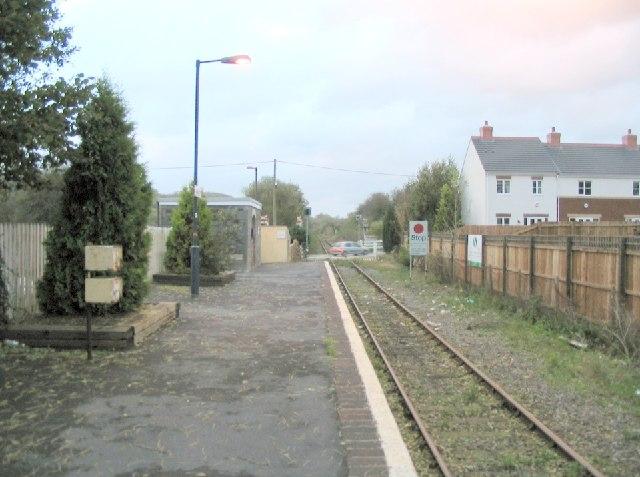 Llandybie railway station