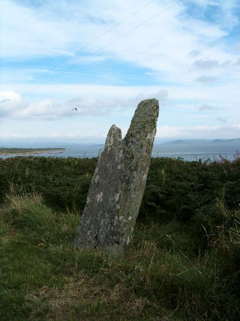 Standing Stone on the Isle of Gigha