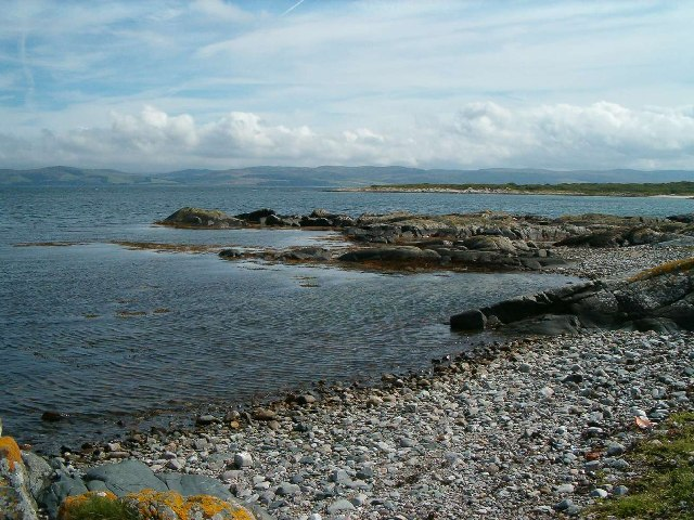 The beach at Port Mor, Isle of Gigha