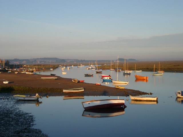 Boats at Burnham Overy Staithe