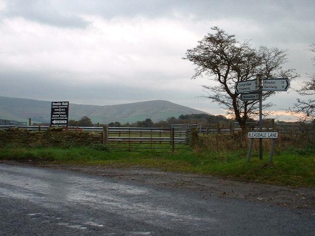 Junction on Bleasdale Lane