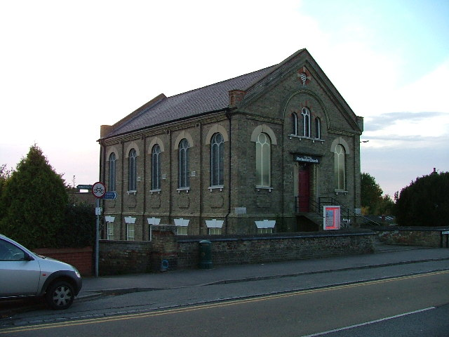 Stotfold Methodist Church.