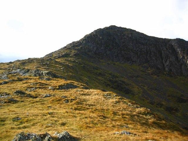 The North East Ridge onto Moel Hebog
