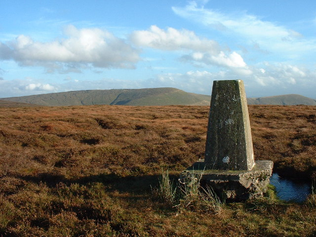 Trig Point Hazelhurst fell