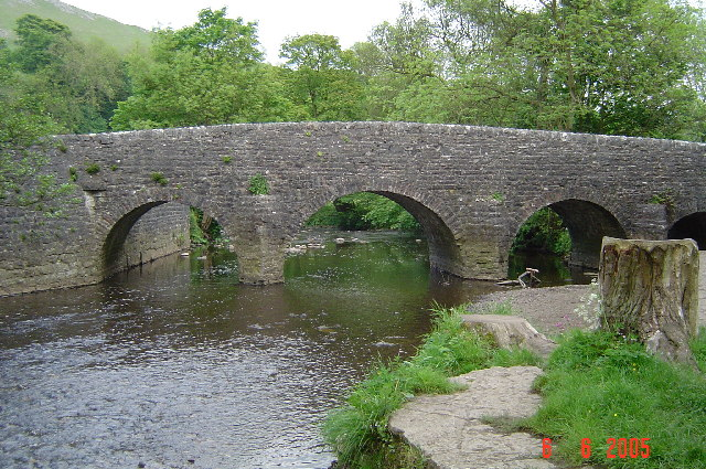 Wetton Mill Bridge