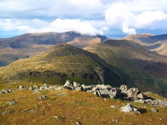 Moel yr Ogof, Moel Lefn, and the Nantlle Ridge