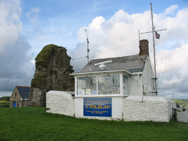 Coastwatch Station,  Polruan.