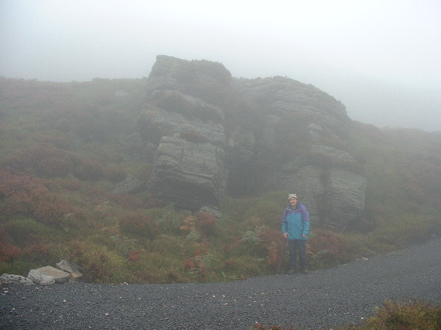 Andy at Hell Crag