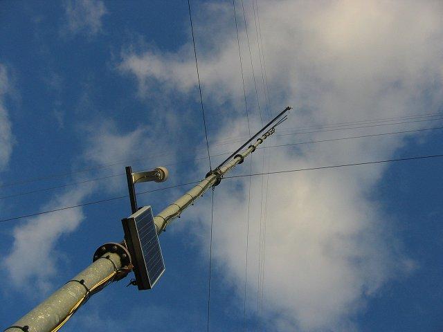 Anemometer Mast, Auchencorth Moss