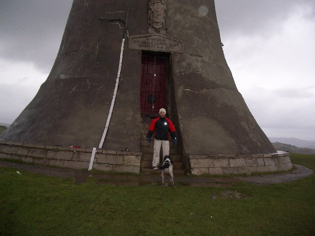 Doorway to the Hoad Monument
