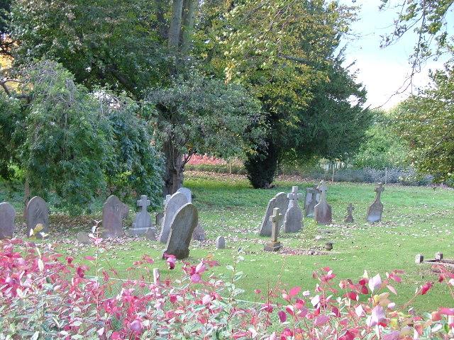 Fairfield graveyard.