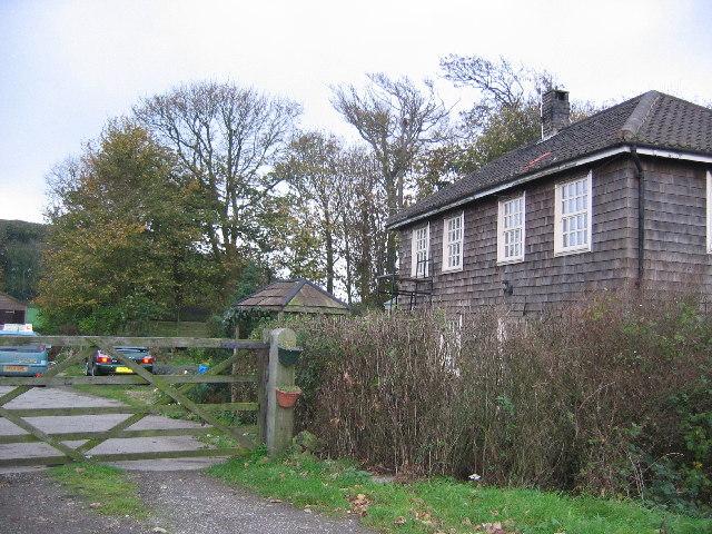 Shingle Clad House