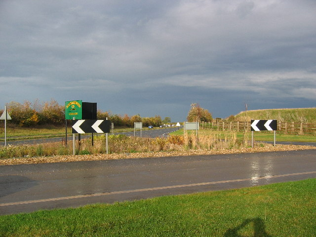 Along the A165