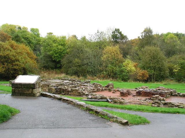 Roman Bath House by Strathclyde Loch, Lanarkshire.