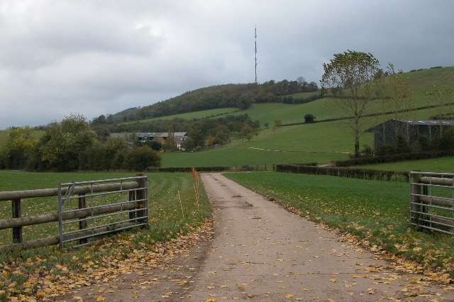 Foxhalls and the Ridge Hill transmitter