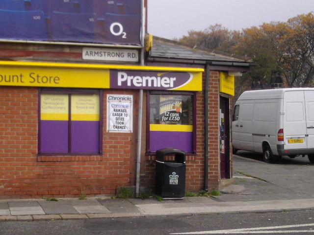 Branded Corner Shop