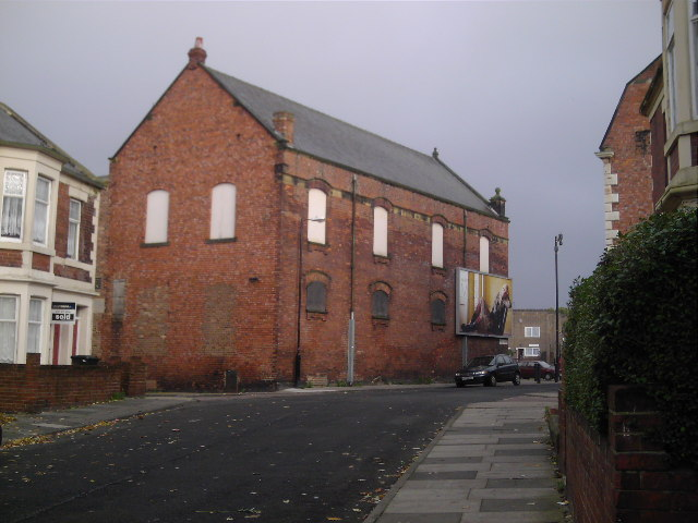 Derelict Co-Op Building