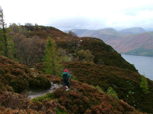 Approach to Walla Crag