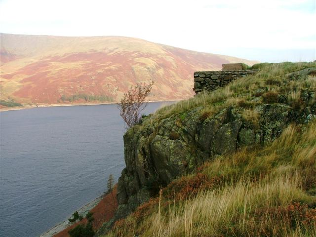 Stone Plinth Overlooking Haweswater