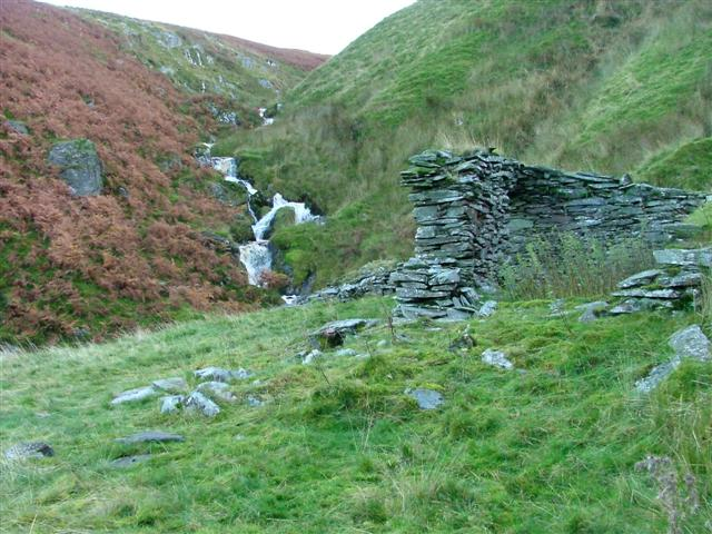 Ruins of Former Mine Buildings, Cawdale