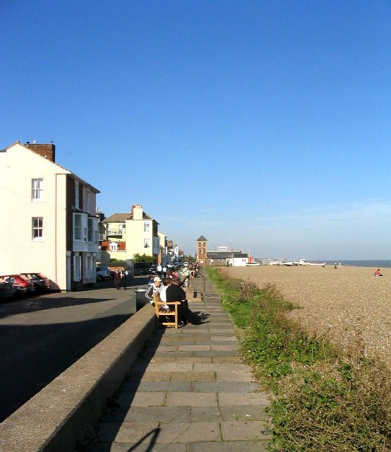 October sunshine - Aldeburgh