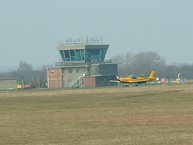 Control Tower RAF Church Fenton
