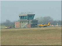 SE5237 : Control Tower RAF Church Fenton by Gordon Kneale Brooke