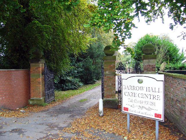 Barrow Hall - Entrance Gates