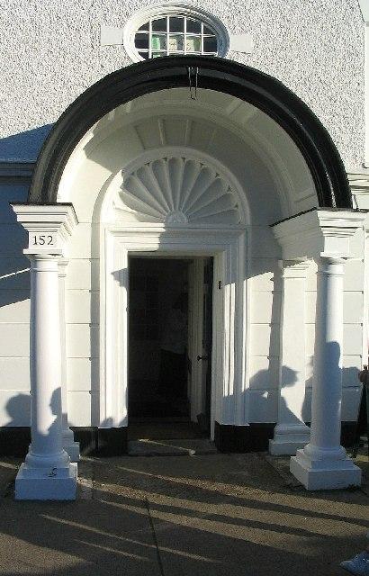 The door to 152