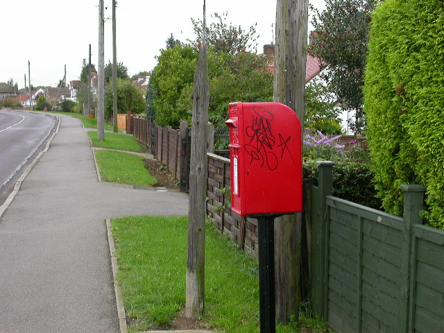 Post Box on The Ridge