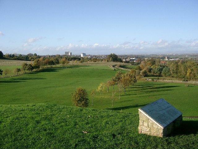 The vista from Chatelherault